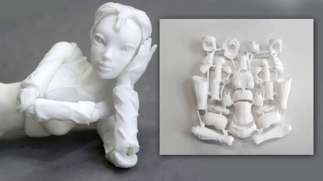 Brand-new 3d Printed doll - BJD - YouTube KP67