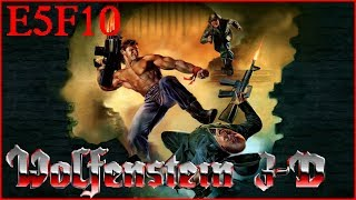 Wolfenstein 3D: Nocturnal Missions (1992) E5F10 All Secrets - I Am Death Incarnate 100% Walkthrough