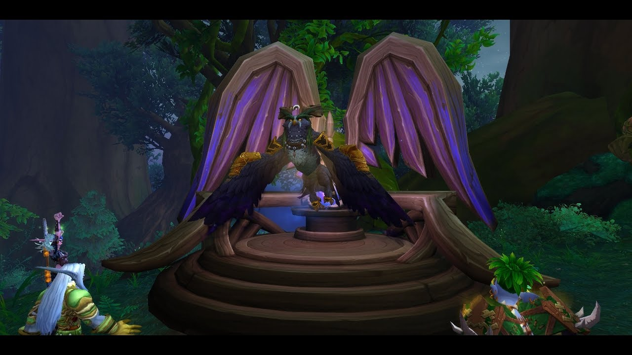 Druid Class Mount and Questline - Archdruid's Lunarwing Form | WoW ...