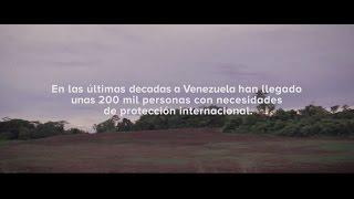 Soluciones duraderas ACNUR en Venezuela-Paola