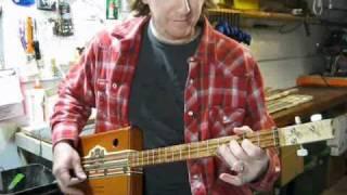 Cigar Box Guitar Slide Blues Lesson Mike Snowden