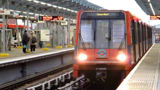 DLR at West India Quay