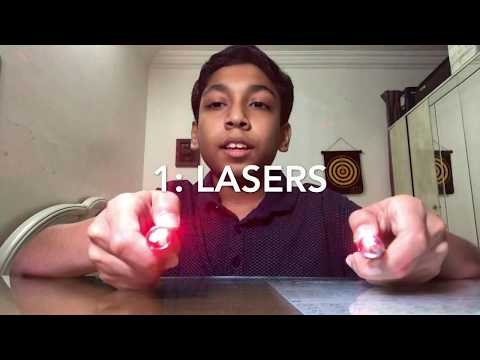 how to make a music laser show projector