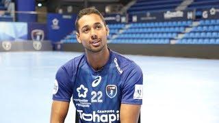Portrait Melvyn Richardson - Joueur du MHB (Montpellier Handball)