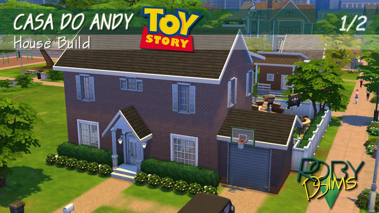 CASA DO ANDY (TOY STORY) | The Sims 4 House Build | P01 - YouTube