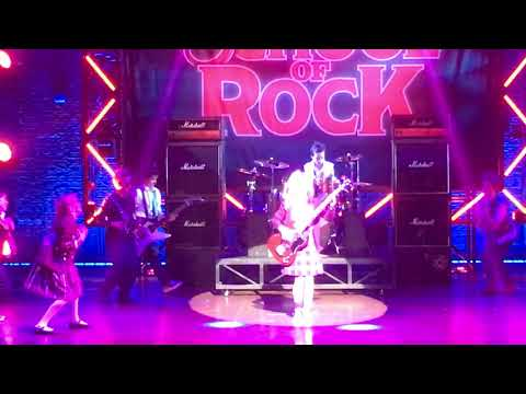 School of Rock Stick it to the man -  Santiago Cerchione on Guitars