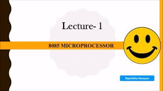 8085 Microprocessor | Introduction, System Bus