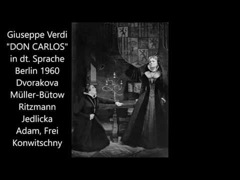 Verdi: Don Carlos (Staatsoper Berlin 1960, deutsch)
