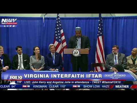FNN: Interfaith Iftar in VA for World Refugee Day - John Kerry & Angelina Jolie Speak - FULL EVENT