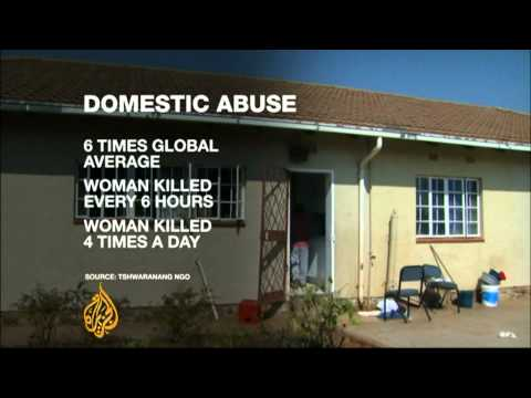 South Africa government criticised on domestic abuse record