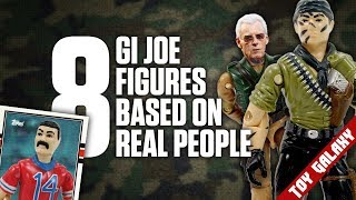 8 GI Joe Figures Based on Real People | List Show #7