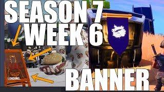 Fortnite - Find the secret Banner in Loading Screen #6 (Season 7 Week 6)