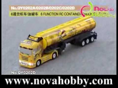 1/32 RC OIL TANK TRUCK  WITH SOUND LIGHT