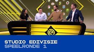 EDIVISIE | Studio eDivisie - Speelronde 1