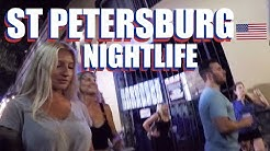 St Petersburg Downtown Bars And Clubs Florida