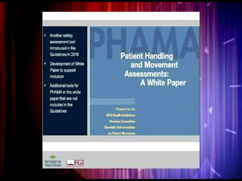 Incorporating Patient Safety in the FGI Guidelines