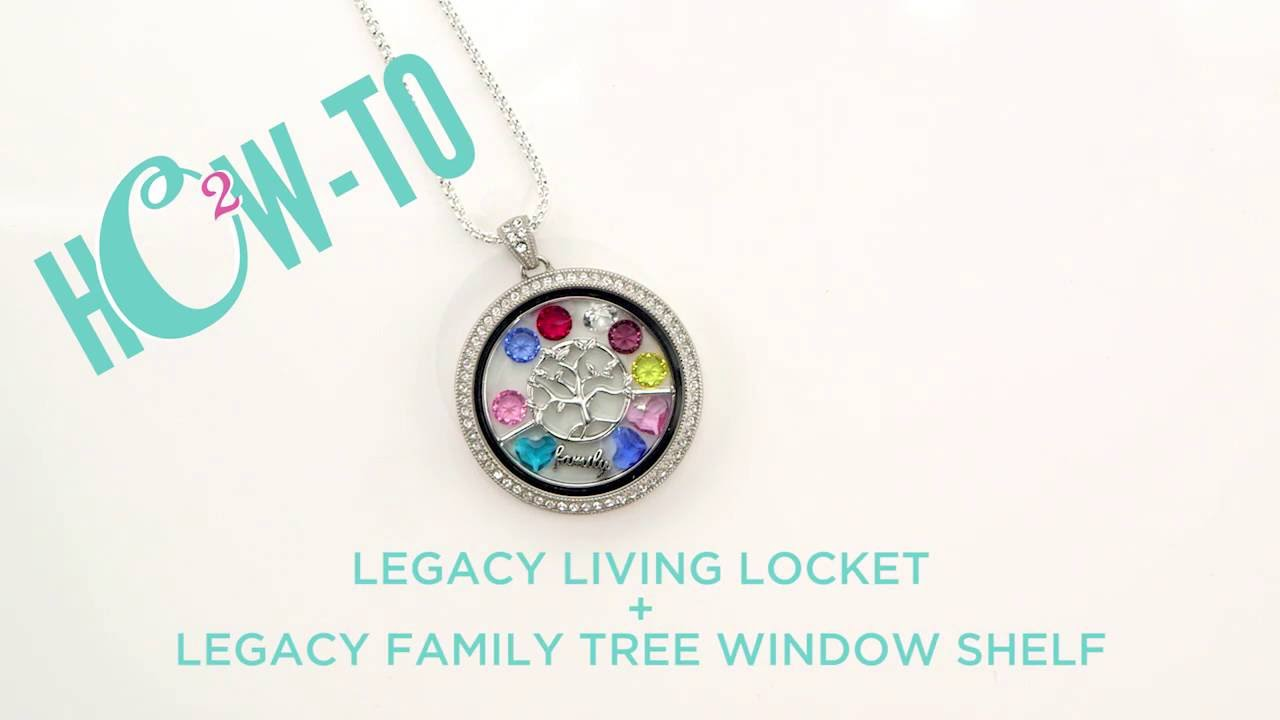 Origami Owl How To The Legacy Living Locket Legacy Family Tree