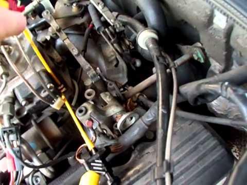 Mercedes W126, M117 - Messung Tastverhältnis und Strom am EHS