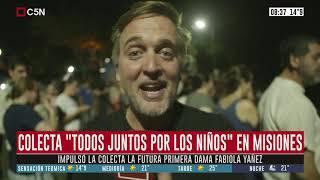 """Colecta """"Todos Juntos por los Niños"""" en Misiones"""