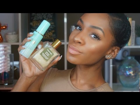 MAY FAVORITES: Gold Moisturizer, Glow Tonic, Tom Ford Oil ▸ VICKYLOGAN