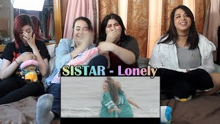 "SISTAR - ""Lonely"" MV Reaction"