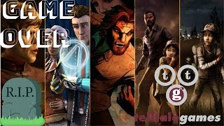 GAME OVER for TELLTALE GAMES | Telltale Out of Business | End of The Walking Dead!?