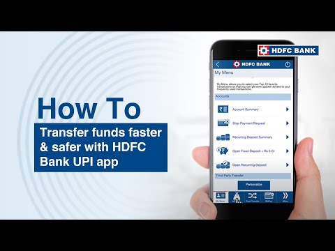 How to use HDFC Bank UPI