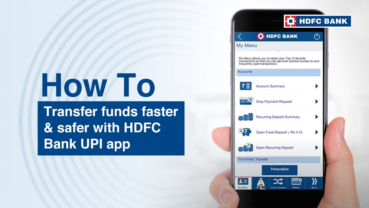 HDFC UPI App - Easy Money Transfer - Payments of India