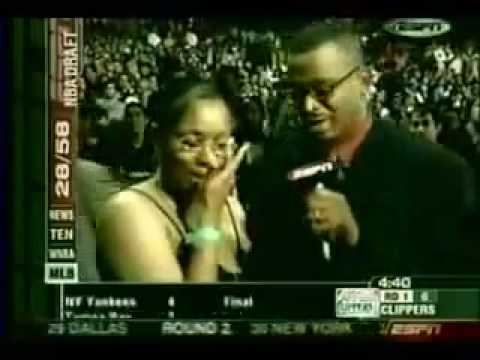 Dwyane Wade Getting Drafted in 2003 to the Miami Heat!!!
