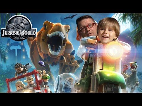 New Game: Lego Jurassic World - Family Play
