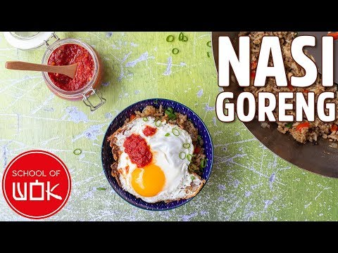 Delicious Indonesian Fried Rice - Nasi Goreng Recipe | Wok Wednesdays