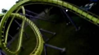 medusa roller coaster high quality video
