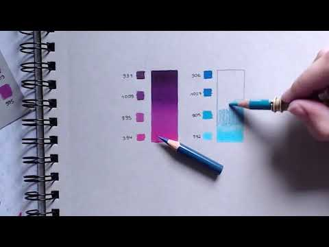 How to blend/burnish Prismacolor Pencils - Josilix HTD #001