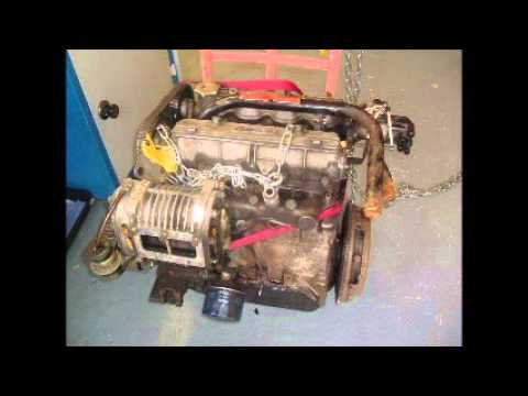 preparation of a Lancia Volumex 2 liter engine at Guy Croft Racing Engines