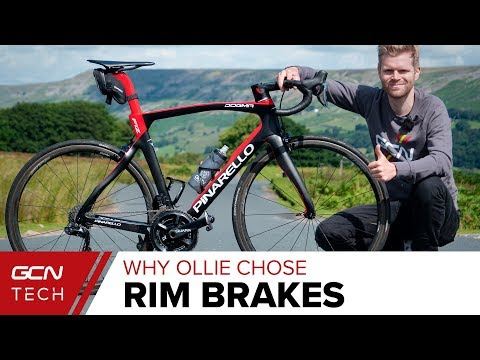 Why Ollie Chose Rim Brakes For His New Pinarello Dogma F12