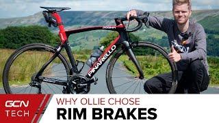 Why Ollie Chose Rim Brakes For His New Pinarello Dogma F12