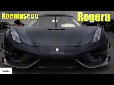 2019 Koenigsegg Regera black - Design, sound & driving!! - Sportscar Event 2019