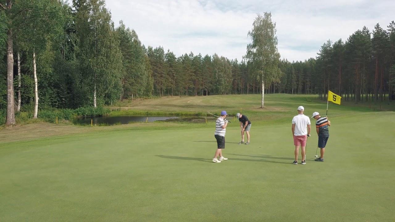 Playing Golf in Hyvinkää / HYVI Golf - YouTube