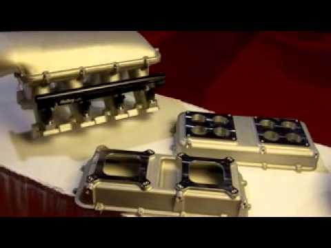 Holley LS3/L92 Hi-Ram Modular Intake Manifold System, Carb & EFI ID10215