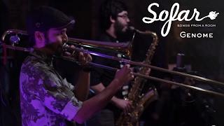 """Genome performing """"Kemuri Kai"""" at Sofar Chicago on December 16th, 2..."""