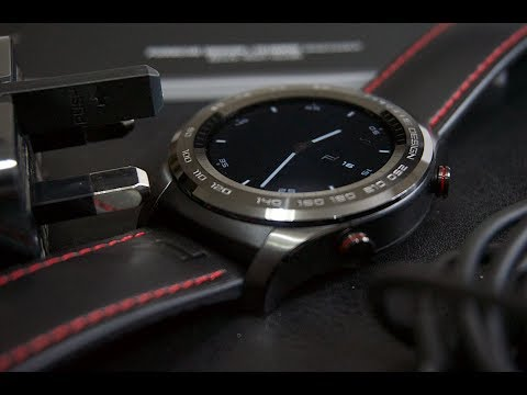 Unboxing the Porsche Design Huawei Smartwatch