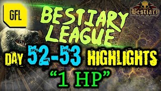 Path of Exile 3.2: Bestiary League DAY #52-53 Highlights