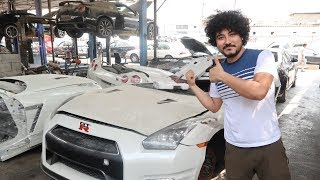 Here's Is The Top Secret Garage Specialist In Nissan GTR ( Rebuilding  GTR Part 3 )
