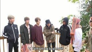 TR Altyazılı BTS üyeleri ülkelerin başkentlerini bilmeye çalışıyor 3