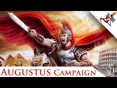 Grand Ages Rome - Glory of the Roman Empire | Reign of Augustus Campaign Walkthrough
