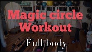FULL 30 Minute   Intermediate Magic Circle Mat Workout with Andrea Davila screenshot 4