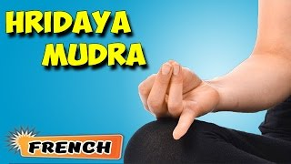 Hridaya Mudra   Yoga pour les débutants complets   Yoga Mudra for Heart Ailments in French