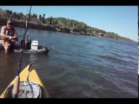 Arroyo City Gar Fishing On Kayak   YouTube