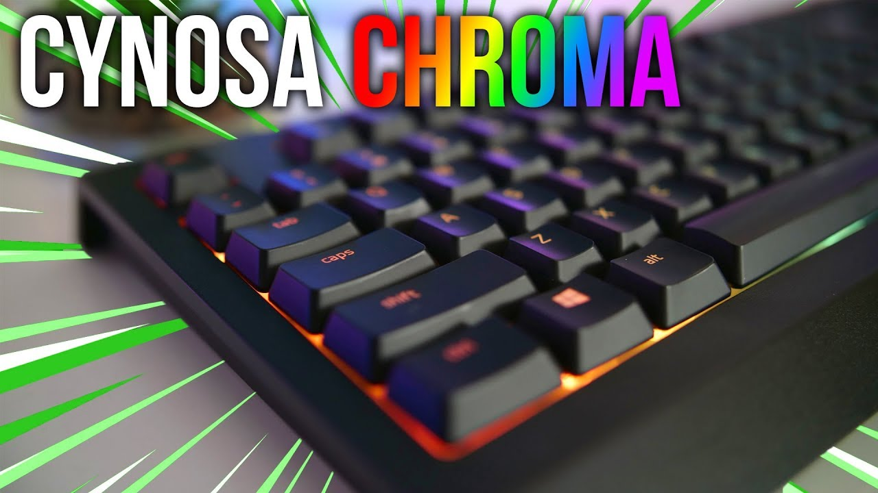 670c50b1269 Razer Cynosa Chroma Review - Good All Round Gaming Keyboard - YouTube