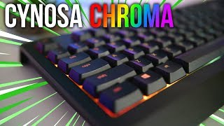 Razer Cynosa Chroma Review - Good All Round Gaming Keyboard